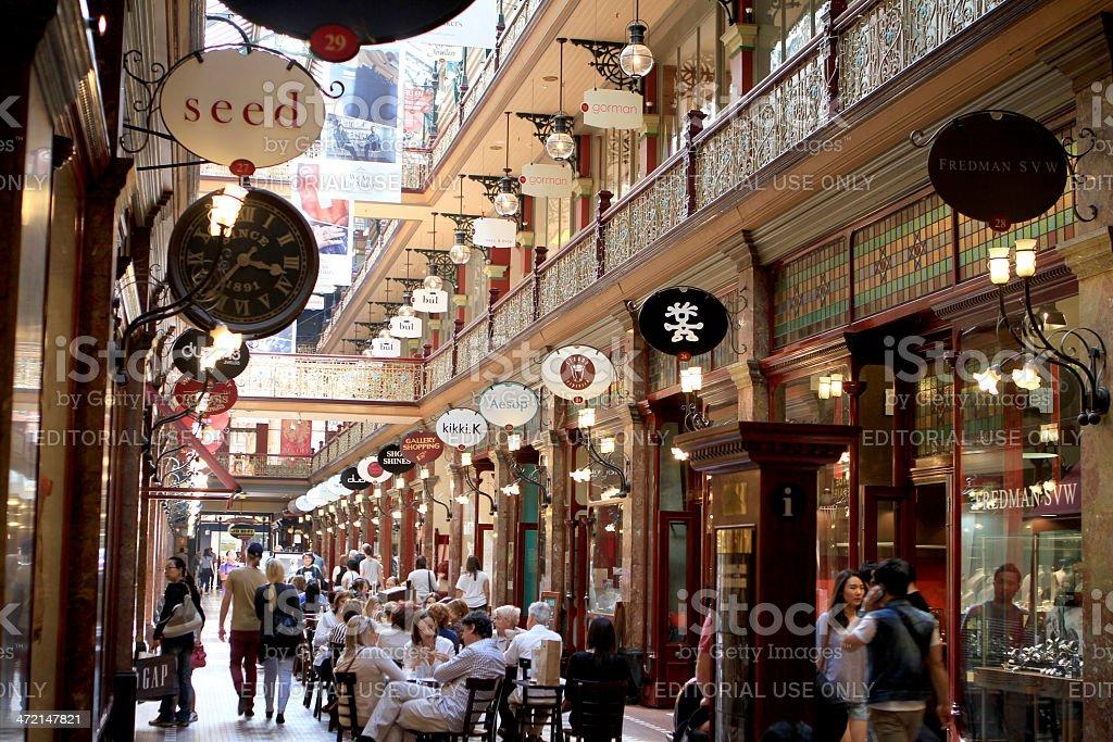 Sydney Shopping stock photo