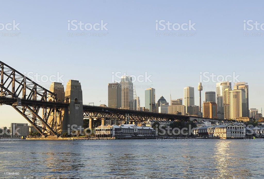 Sydney skyline 2 royalty-free stock photo