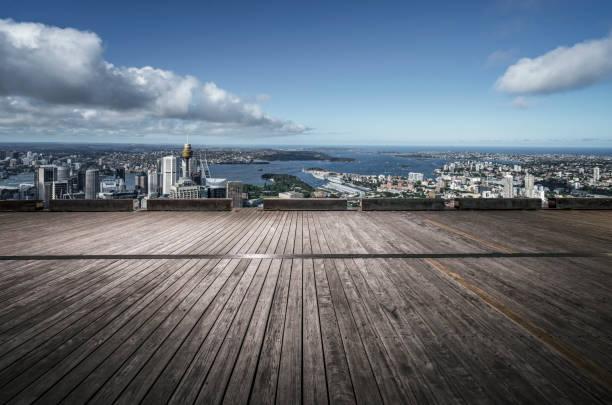 Sydney Skyline und Aussichtsplattform – Foto