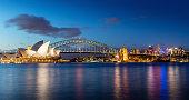 istock Sydney Skyline at Night 498122776