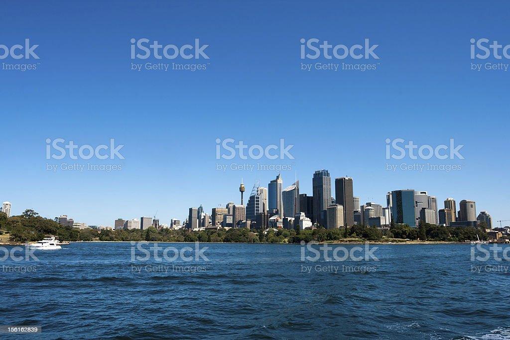 Sydney Skyline, Australia royalty-free stock photo
