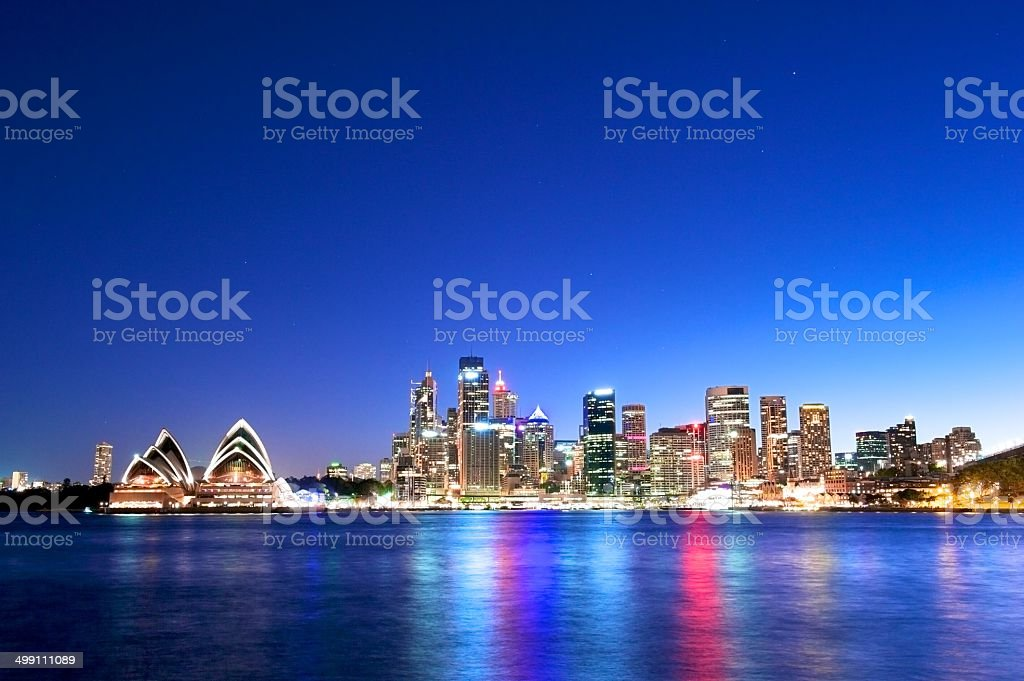 Sydney Skyline stock photo