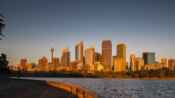 sydney skyline - nzgmw2017 stock pictures, royalty-free photos & images