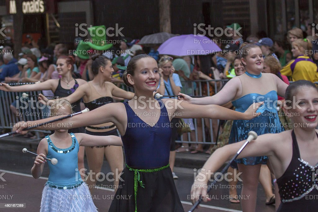 Sydney St Patrick's Day Parade stock photo