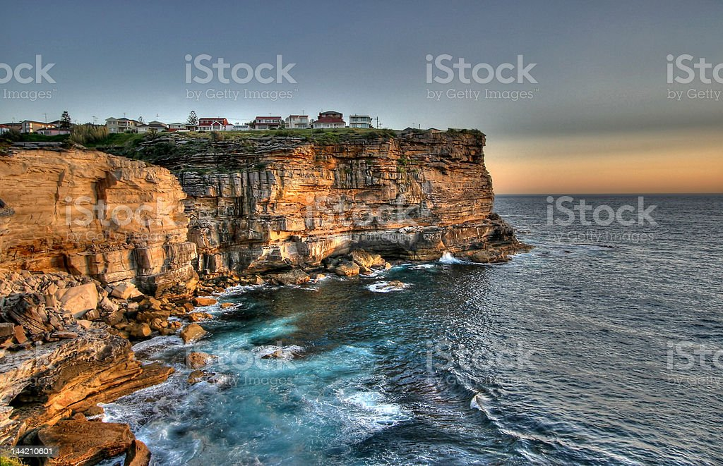 Sydney Sunrise stock photo