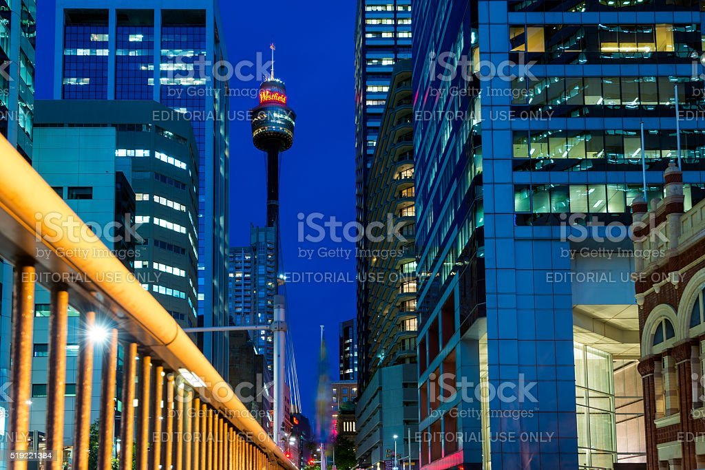 Sydney Tower Eye Stock Photo & More Pictures of Architecture - iStock
