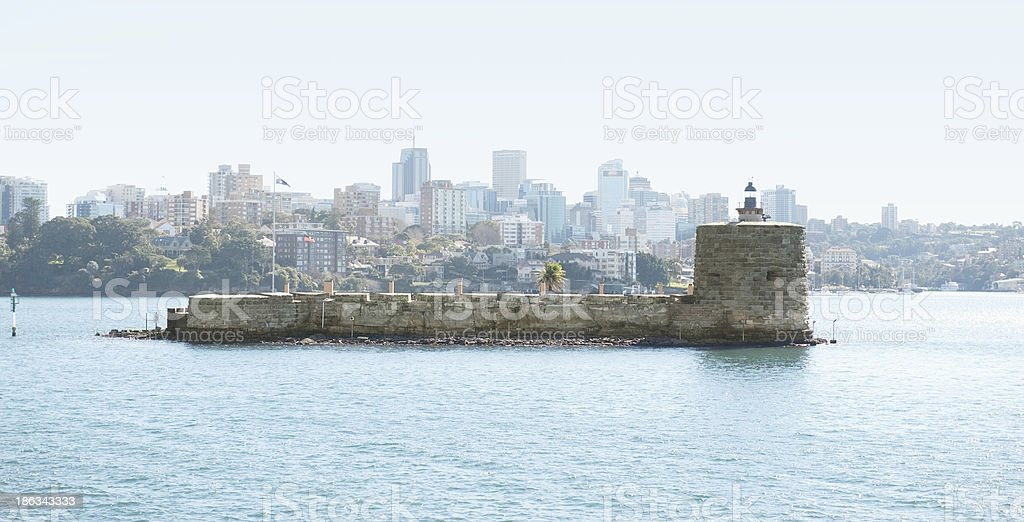 Sydney view at the noon royalty-free stock photo