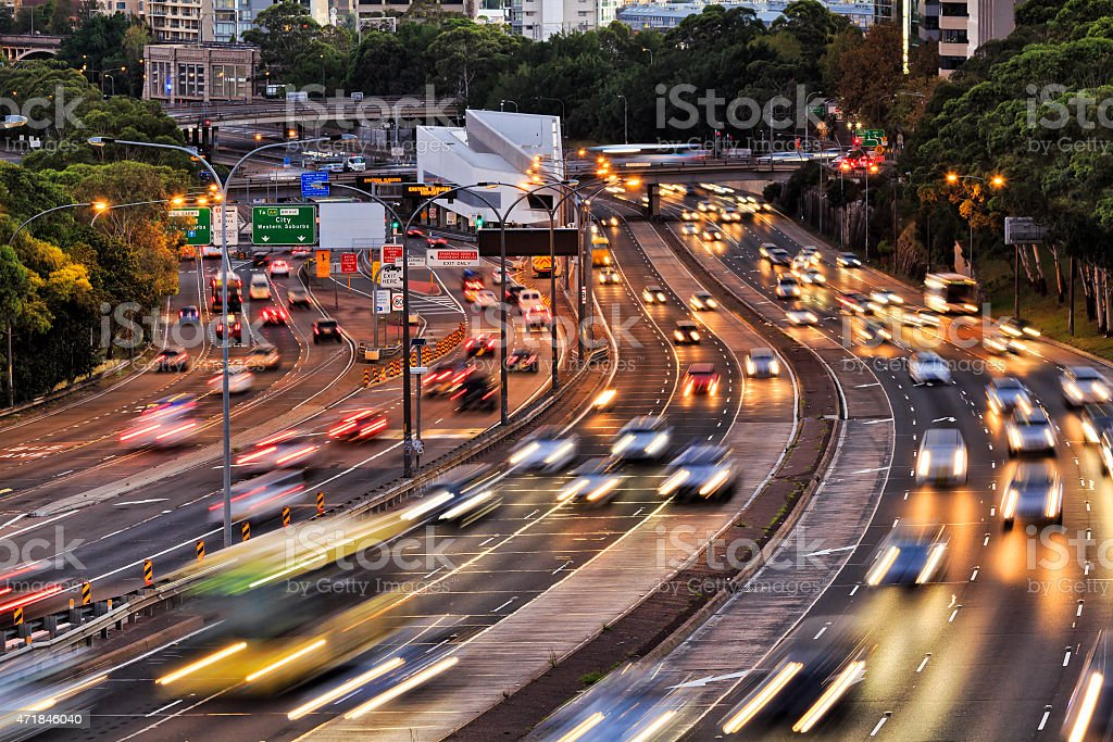 Sydney Warringah Set close stock photo