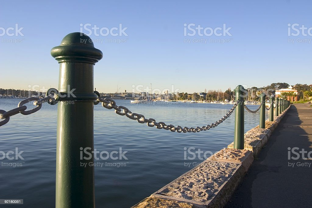 Sydney Waterfront stock photo