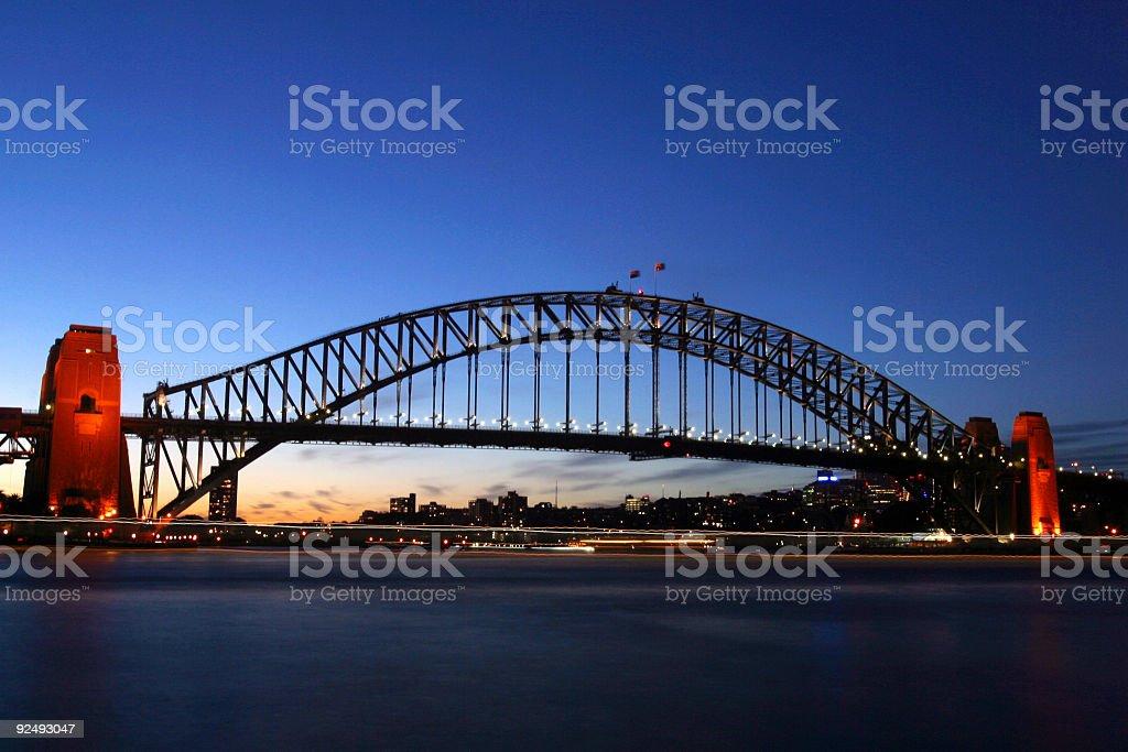 Sydney_Harbour_Bridge royalty-free stock photo