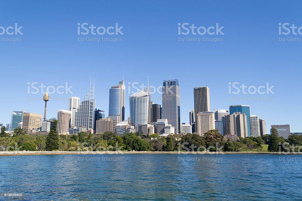Sydneys CBD stock photo