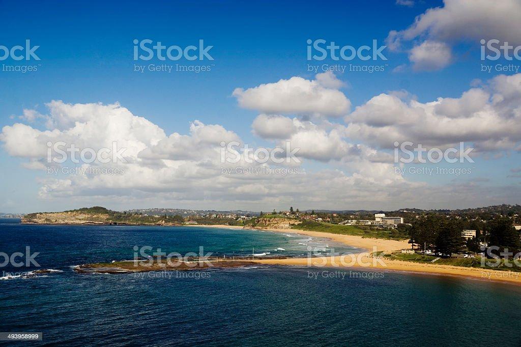 Sydney's Northern Beaches - Mona Vale Beach stock photo