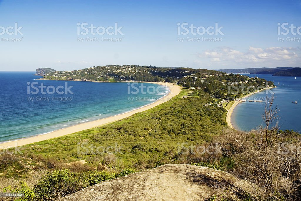 Sydney's Northern Beaches - Palm Beach stock photo