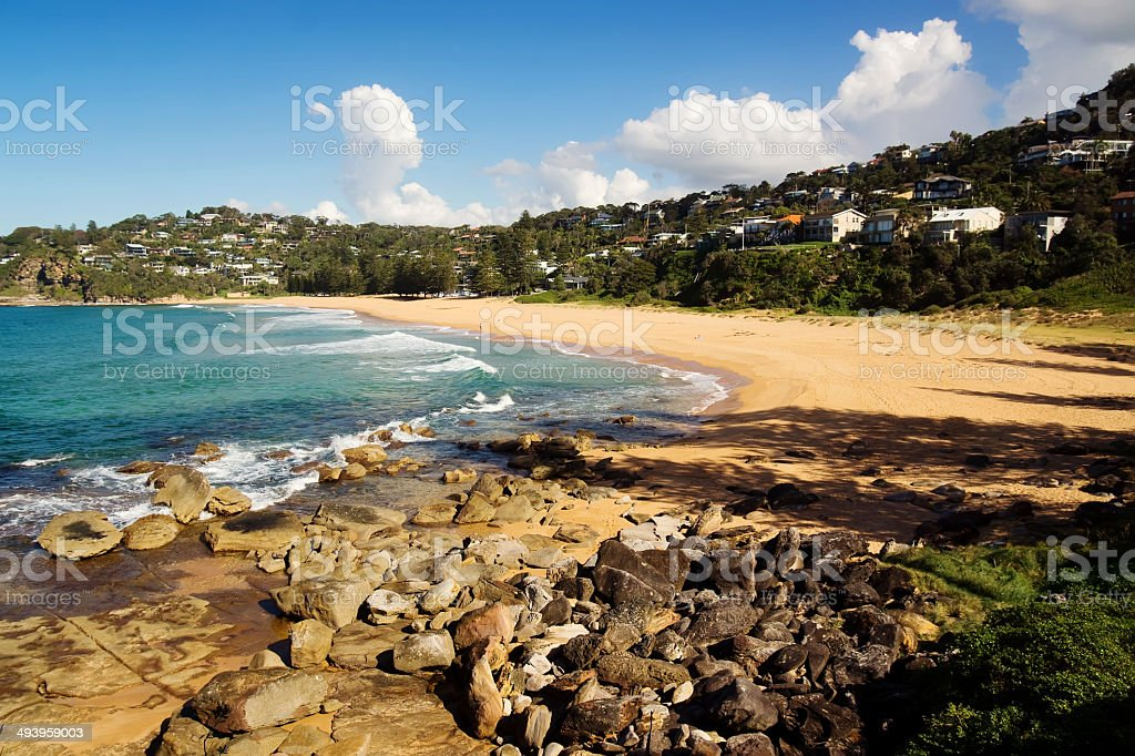 Sydney's Northern Beaches - Whale Beach royalty-free stock photo