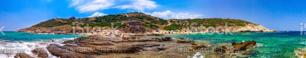 Sykia, Greece stock photo