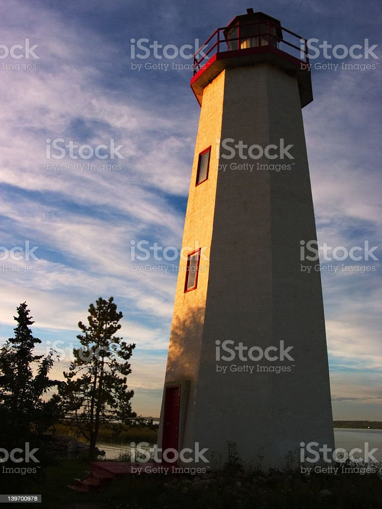 Sylvan Lake Lighthouse royalty-free stock photo