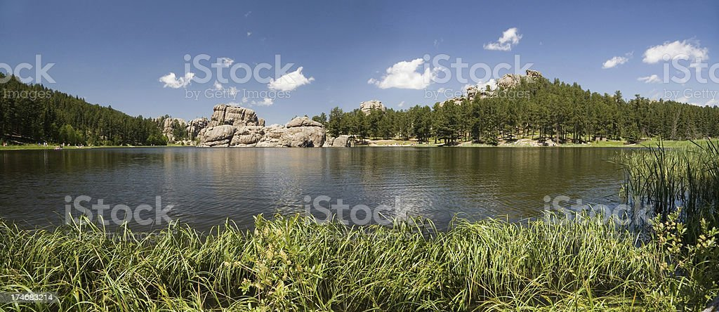 Sylvan Lake Panorama royalty-free stock photo