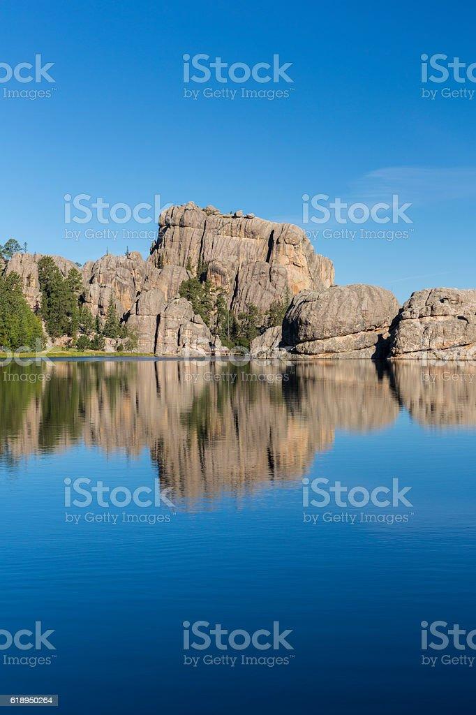 Sylvan Lake stock photo