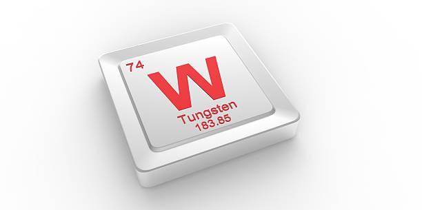 W symbole 74 contenu pour Film tungstène élément chimique - Photo