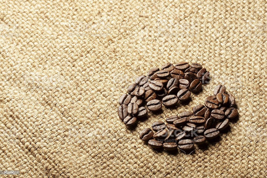 Symbol coffee royalty-free stock photo