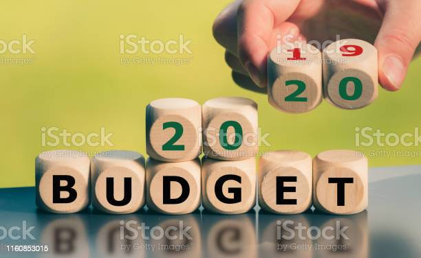 Symbol for the 2020 Budget.