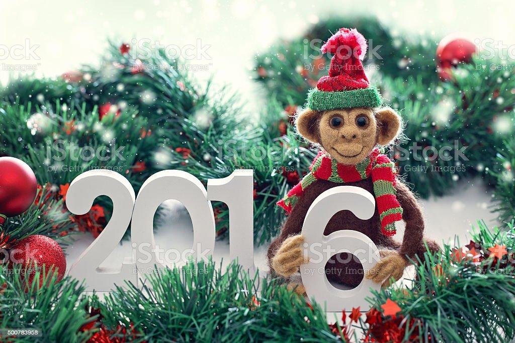 Symbol für das neue Jahr 2016. – Foto