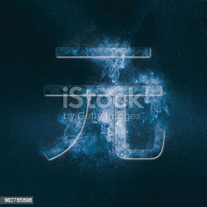 1135149903 istock photo RMB symbol of Chinese currency Yuan Symbol. Monetary currency symbol. Abstract night sky background. 962785898