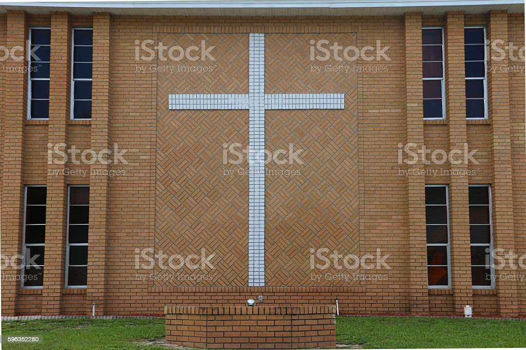Symbol of Christianity royalty-free stock photo