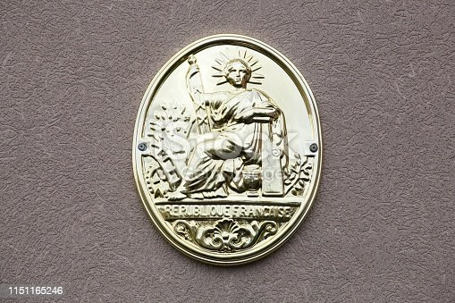 845085240istockphoto Symbol of french notary in France 1151165246