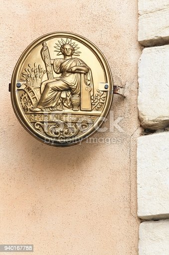 845085240istockphoto Symbol of french notary in France 940167788