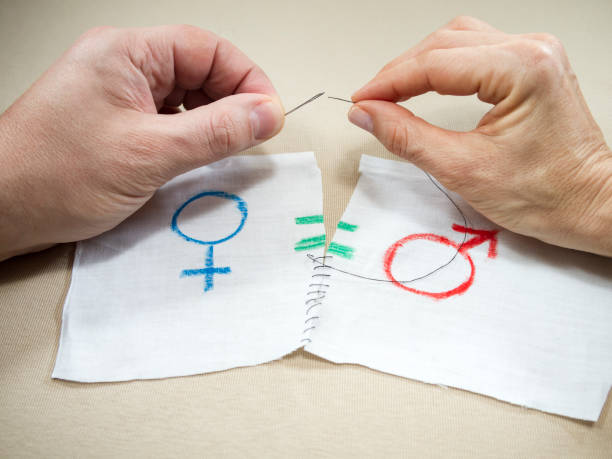 symbol of gender equality - gender stereotypes stock pictures, royalty-free photos & images