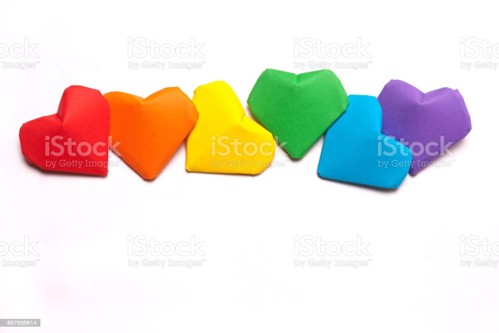Symbol Of Lgbt A Rainbow Flag Stock Photo 857935614 Istock
