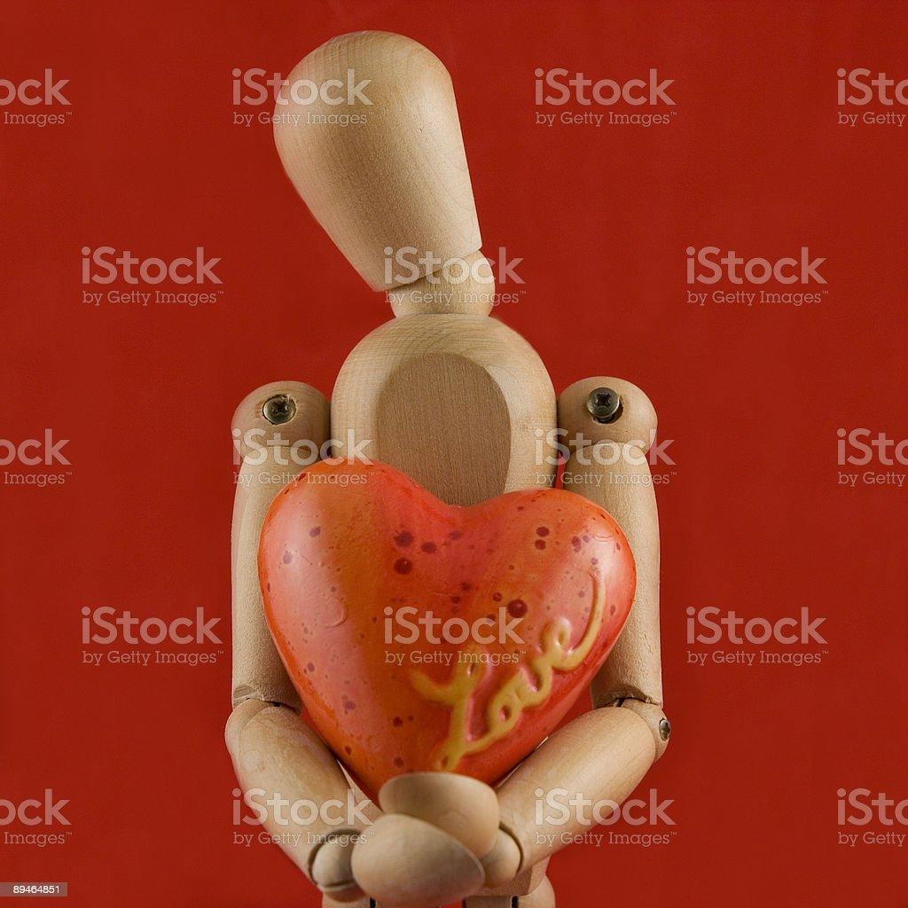 Symbole de l'Amour photo libre de droits
