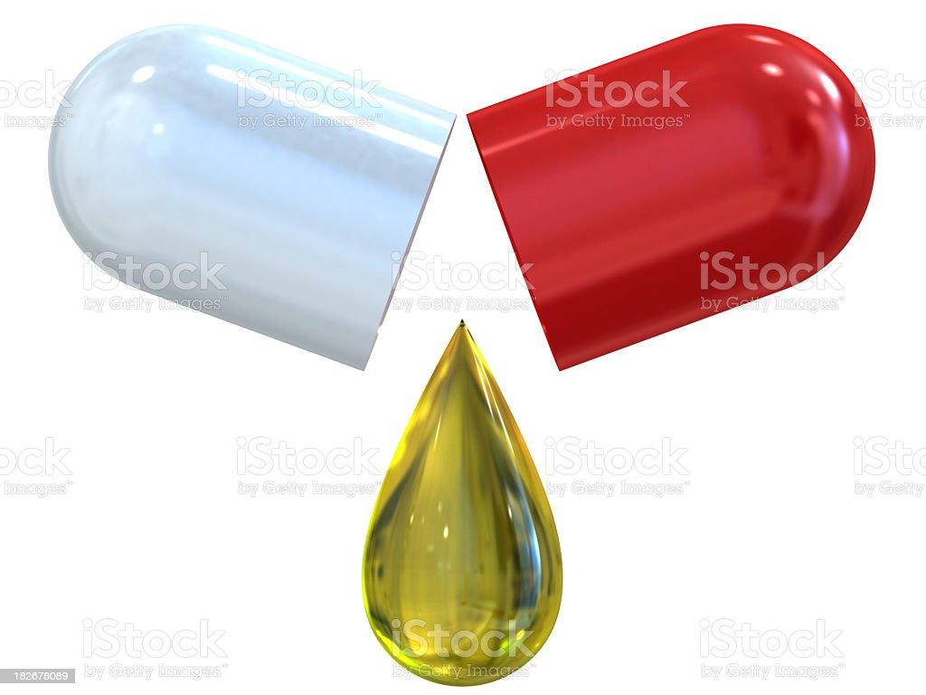 symbol of medicine royalty-free stock photo