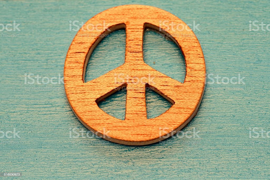 symbol of peace stock photo