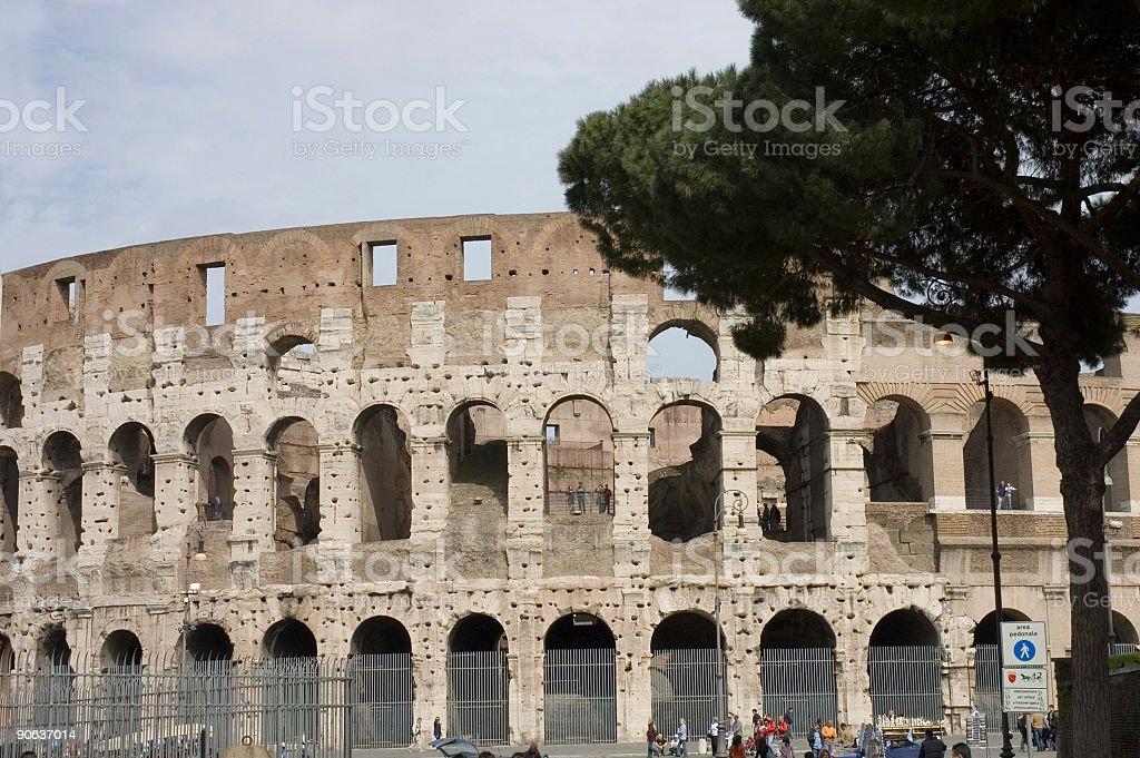 symbol of Rome stock photo
