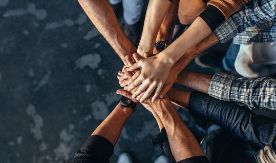 Symbol Für Teamarbeit Zusammenarbeit Und Einheit Stockfoto und mehr Bilder von Arbeitskollege