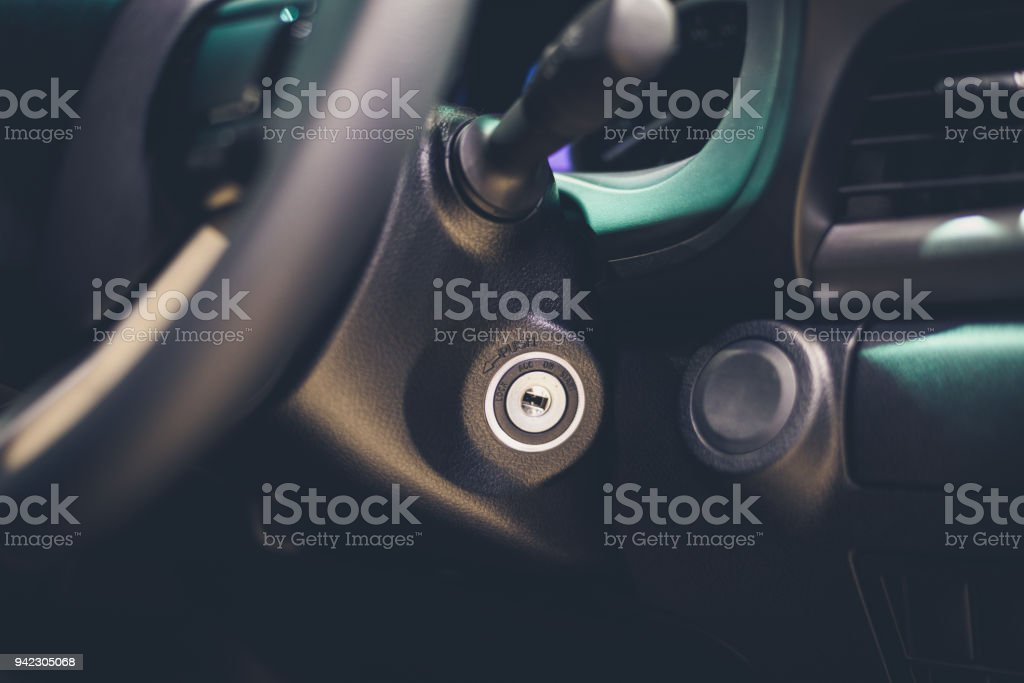 Symbol Start Lock Car Engine Ignition Stock Photo More Pictures Of