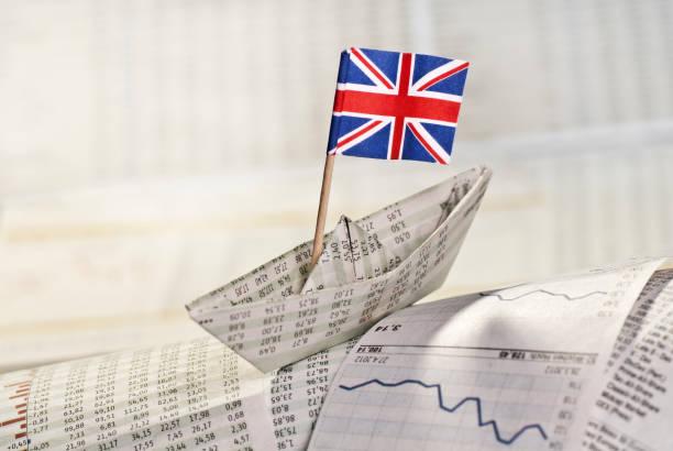 Symbolfoto britische Wirtschaft stock photo