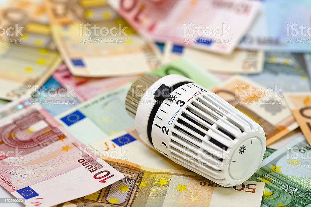 Symbolfoto Energiekosten royalty-free stock photo