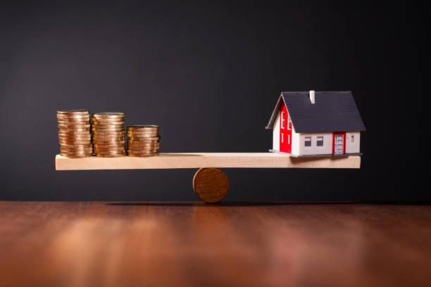 Symbolfoto solide Baufinanzierung stock photo