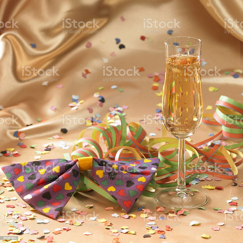 symbolic carnival and party scenery royalty-free stock photo