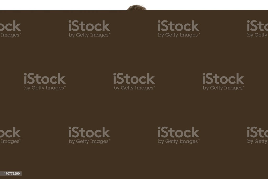 Symbolic paper house 3d rendering royalty-free stock photo