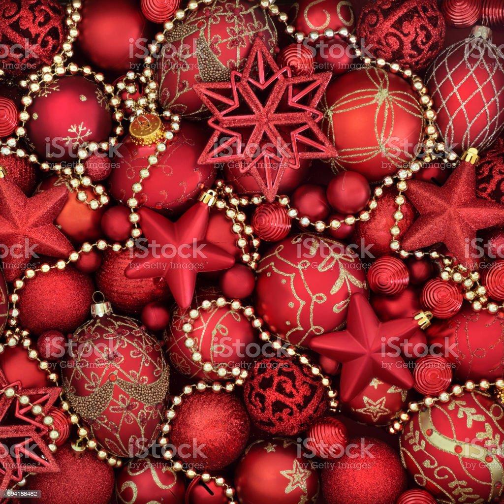 Symbols of Christmas stock photo