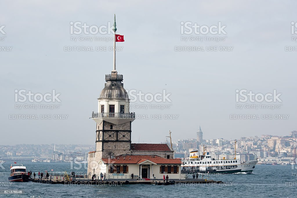 symbols of Istanbul all together stock photo