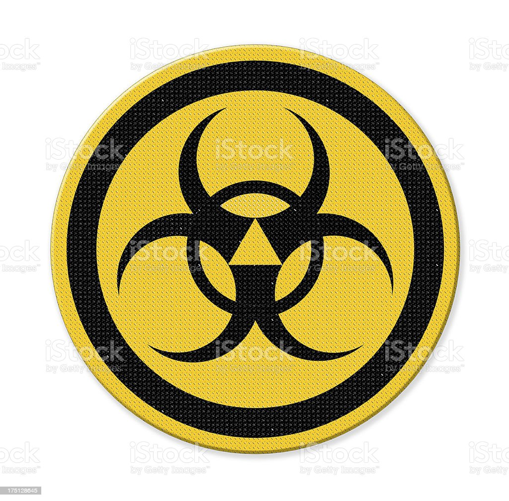 symbols of radiation royalty-free stock photo
