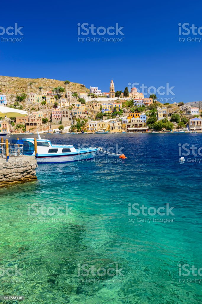 Symi island royalty-free stock photo