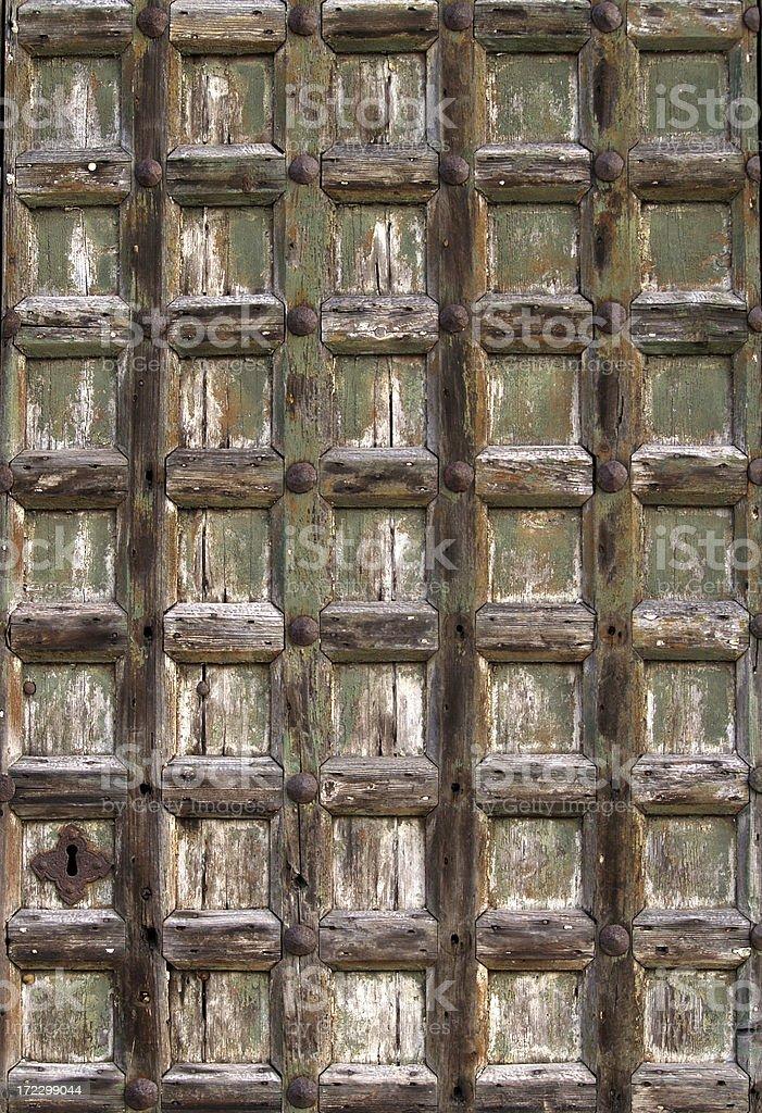 Symmetrical Door royalty-free stock photo
