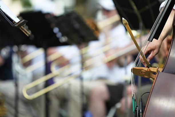 symphony orchestra - philharmonie stock-fotos und bilder