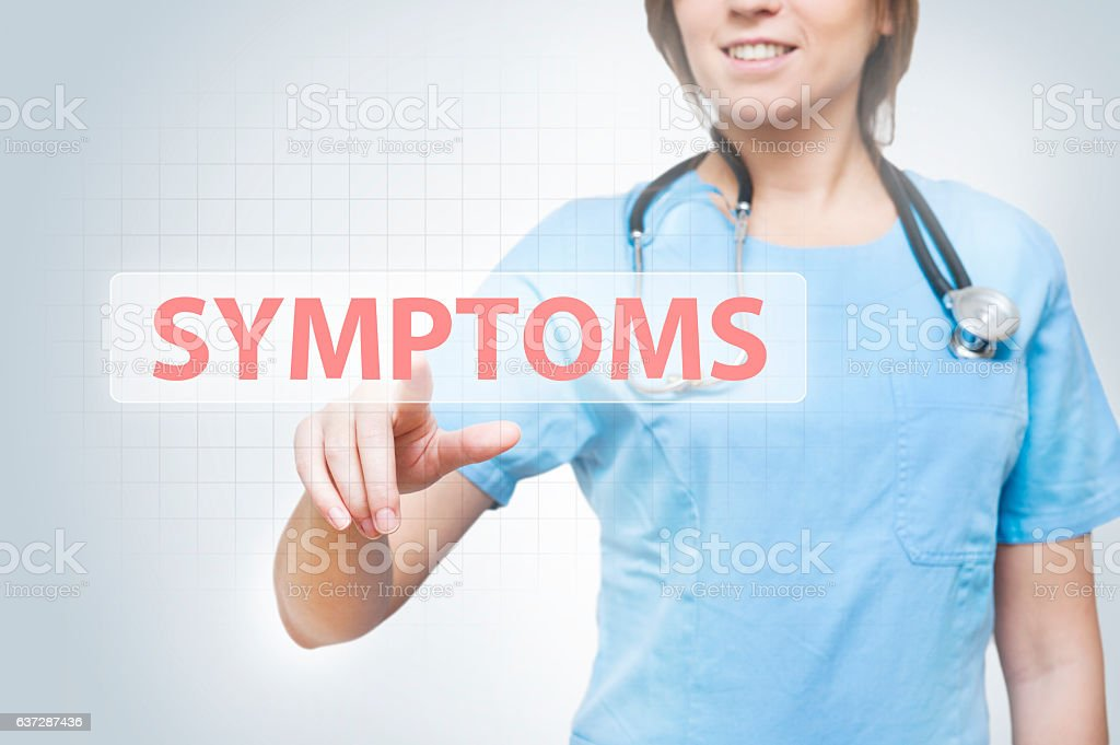 Symptoms / Medicine concpet (Click for more) - foto de stock